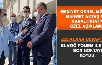 Emniyet Genel Müdürü Aktaş, Elazığ POMEM ile İlgili Son Noktayı Koydu