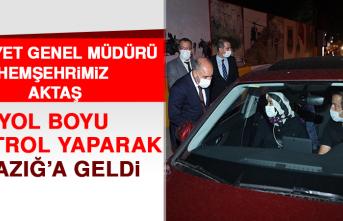 Emniyet Genel Müdürü Aktaş Elazığ'da