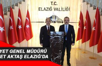 Emniyet Genel Müdürü Mehmet Aktaş Elazığ'da