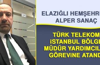 Hemşehrimiz Sanaç'a Türk Telekom'da Önemli Görev
