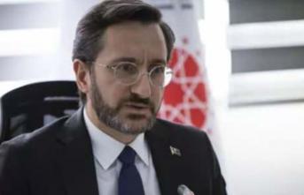 İletişim Başkanı Altun'dan, 'Ayasofya' açıklaması