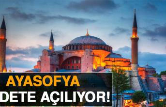 İstanbul'da Tarihi Gün! Ayasofya'ya Yüz Binler Akın Ediyor