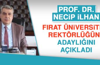 Prof. Dr. Necip İlhan, Rektörlüğe Aday Olduğunu Açıkladı