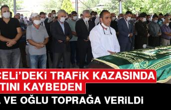Tunceli'deki Trafik Kazasında Hayatını Kaybeden Baba ve Oğlu Toprağa Verildi