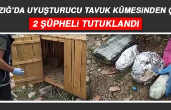 Uyuşturucu Tavuk Kümesinden Çıktı, 2 Şüpheli Tutuklandı