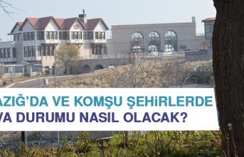10 Ağustos'ta Elazığ'da Hava Durumu Nasıl Olacak?