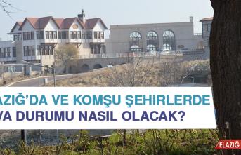 22 Ağustos'ta Elazığ'da Hava Durumu Nasıl Olacak?