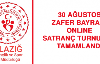 30 Ağustos Zafer Bayramı Online Satranç Turnuvası Tamamlandı