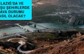 3 Ağustos'ta Elazığ'da Hava Durumu Nasıl Olacak?