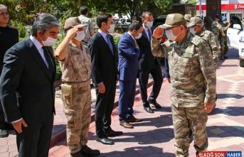 3. Ordu Komutanı Korgeneral Şeref Öngay Iğdır Valiliğini ziyaret etti