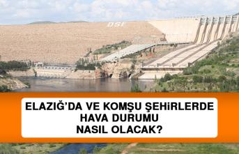6 Ağustos'ta Elazığ'da Hava Durumu Nasıl Olacak?