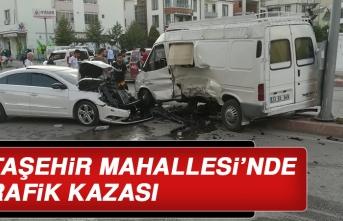 Ataşehir Mahallesi'nde Trafik Kazası