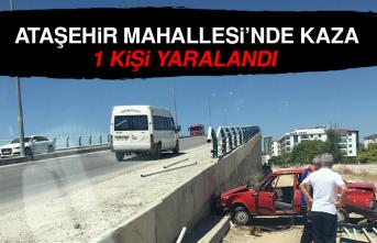 Ataşehir Mahallesi'nde Kaza: 1 Yaralı