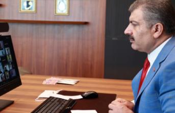 Bakan Koca 81 İlin Sağlık Müdürleriyle Görüştü