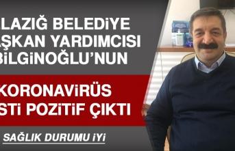 Belediye Başkan Yardımcısı Bilginoğlu'nun Koronavirüs Testi Pozitif Çıktı