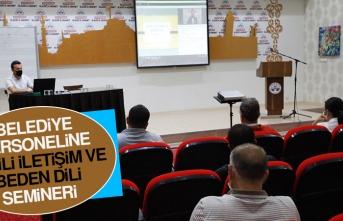 Belediye Personeline Etkili İletişim ve Beden Dili Semineri