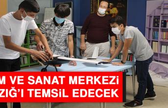 Bilim ve Sanat Merkezi, Elazığ'ı Temsil Edecek