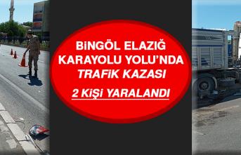 Bingöl Elazığ Karayolu Yolu'nda Trafik Kazası