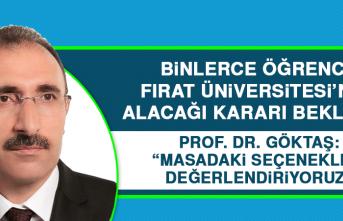 Binlerce Öğrenci, Fırat Üniversitesi'nin Alacağı Kararı Bekliyor