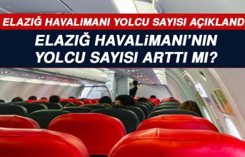 Elazığ Havalimanı'nın yolcu sayısı arttı mı?