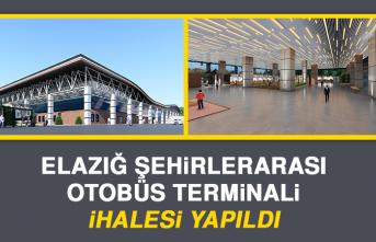 Elazığ Şehirlerarası Otobüs Terminali İhalesi Yapıldı