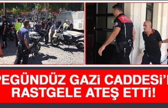 Elazığ'da Rastgele Ateş Eden Şahıs Gözaltına Alındı