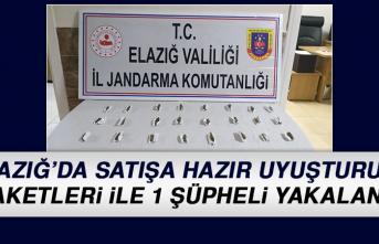 Elazığ'da Satışa Hazır Uyuşturucu Paketleri İle 1 Şüpheli Yakalandı