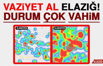 Elazığ'da Vaka Sayısı Artıyor