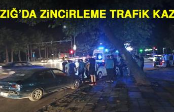 Elazığ'da Zincirleme Trafik Kazası!