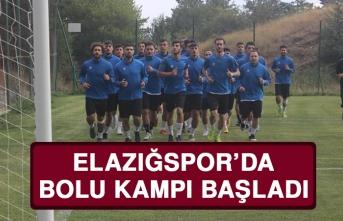 Elazığspor'da Bolu Kampı Başladı