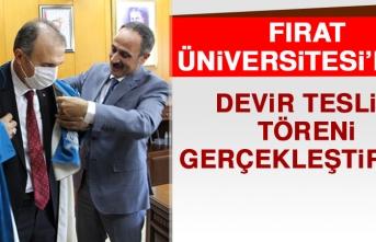 Fırat Üniversitesi'nde Devir Teslim Töreni Gerçekleştirildi