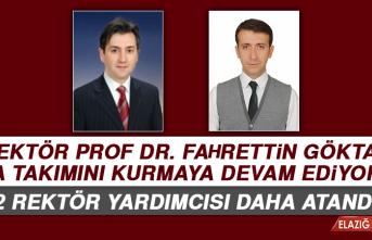 Fırat Üniversitesine 2 Rektör Yardımcısı Atandı