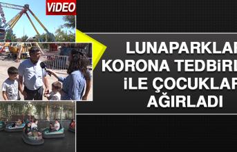 Lunaparklar, Korona Tedbirleri ile Çocukları Ağırladı