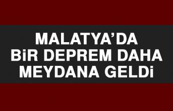 Malatya'da Depremler Devam Ediyor