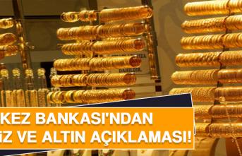 Merkez Bankası'ndan Döviz ve Altın Açıklaması!