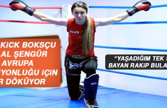Milli Kick Boksçu Şengür, Avrupa Şampiyonluğu İçin Ter Döküyor