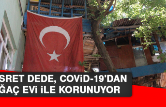 Nusret Dede, Covid-19'dan Ağaç Evi İle Korunuyor