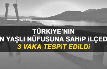 Türkiye'nin En Yaşlı Nüfusuna Sahip İlçede 3 Vaka Tespit Edildi