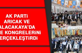 AK Parti Arıcak ve Alacakaya'da İlçe Kongrelerini Gerçekleştirdi