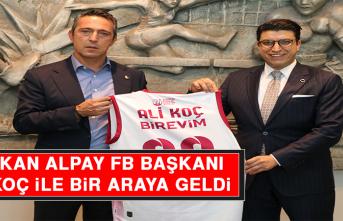 Alpay, FB Başkanı Ali Koç İle Bir Araya Geldi
