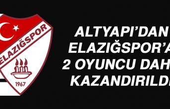 Altyapı'dan Elazığspor'a 2 Oyuncu Daha Kazandırıldı