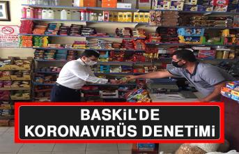 Baskil'de Koronavirüs Denetimi