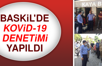 BASKİL'DE KOVİD-19 DENETİMİ YAPILDI