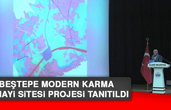Beştepe Modern Karma Sanayi Sitesi Projesi Tanıtıldı