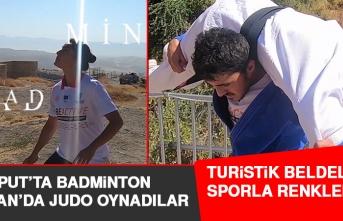 Elazığ'ın Tarihi ve Turistik Bölgelerinde Spor Aktiviteleri Yapıldı