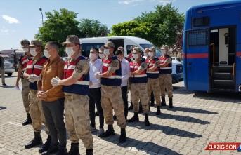Erzincan'da 1 ton 271 kilogram eroin ele geçirilmesine ilişkin 8 sanığın yargılanmasına devam edildi