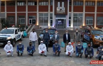 Erzurum'da