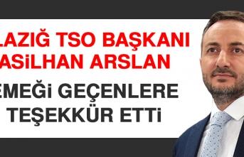 ETSO Başkanı Arslan, Emeği Geçenlere Teşekkür Etti
