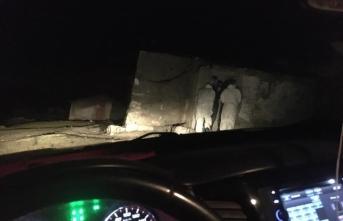 Filyasyon ekipleri gece karanlığında dahi Erzurum'un kırsal mahallelerinde mesaide