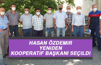 Hasan Özdemir, Yeniden Kooperatif Başkanı Seçildi